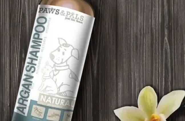natural argan shampoo for dog