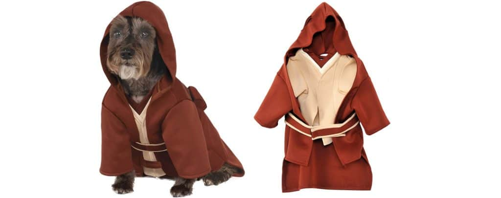 dog costume jedi star wars