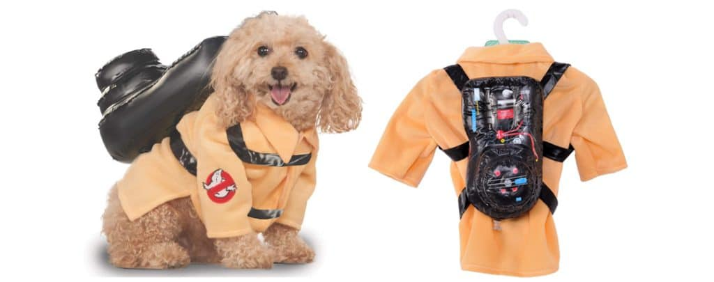dog costume ghostbusters