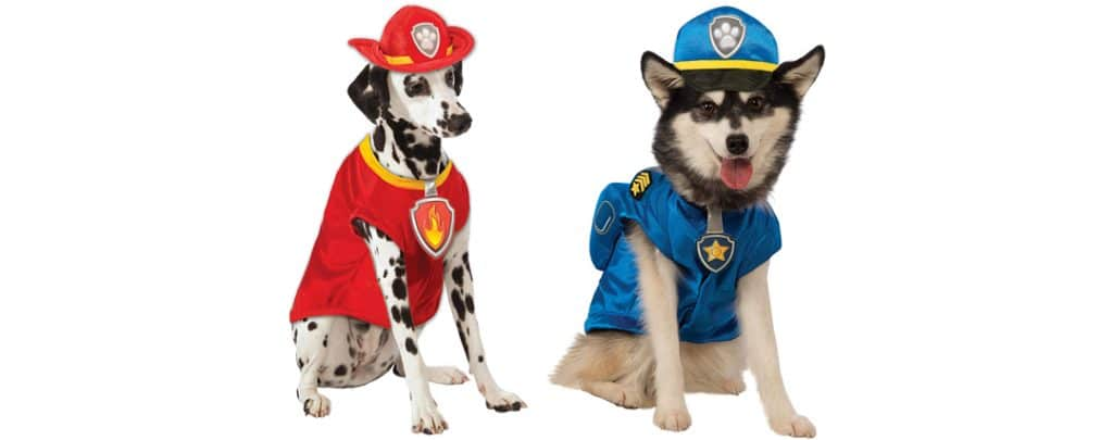paw patrol dog costume